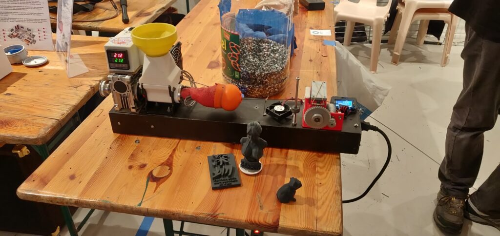 Extrusion filament