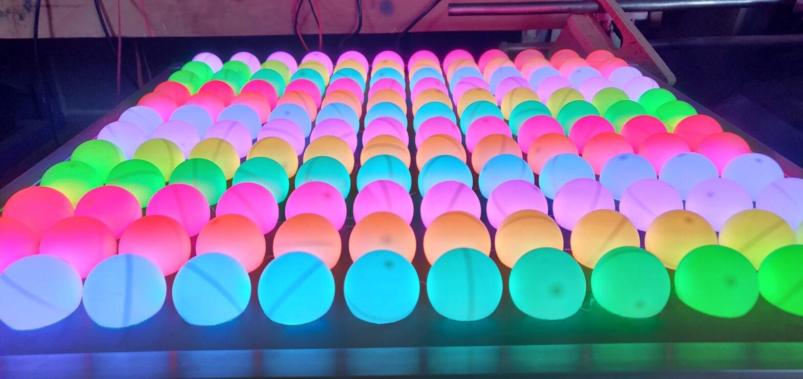 Matrice LED Ping-pong