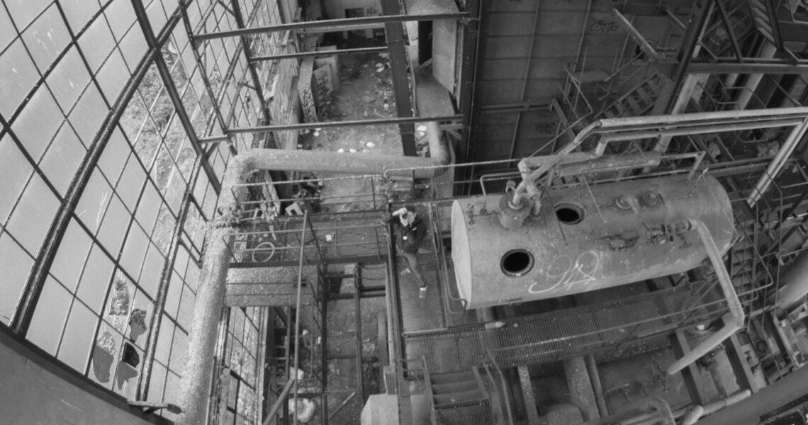 Photo d'illustration d'une sortie Urbex dans un espace industriel