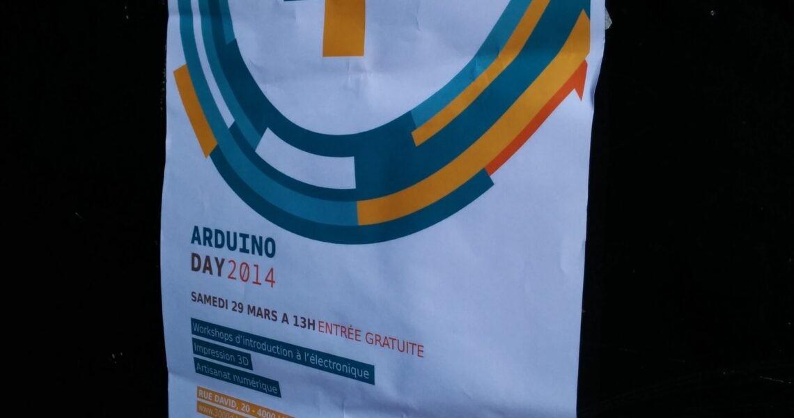Affiche Arduino Day