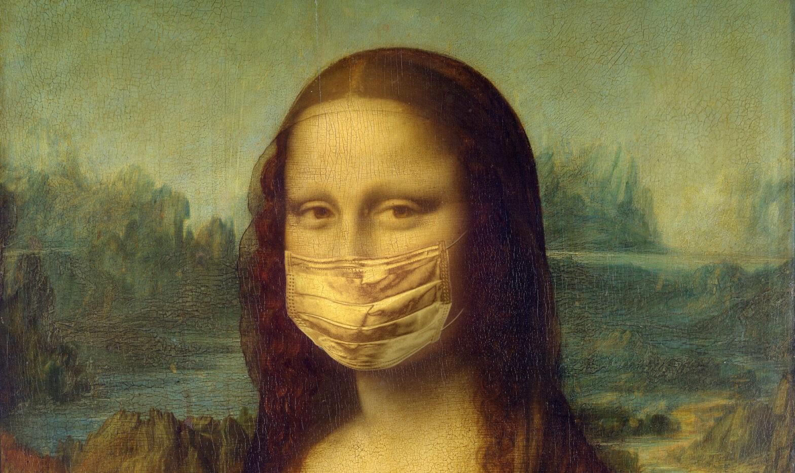 Mona Lisa Masque Covid
