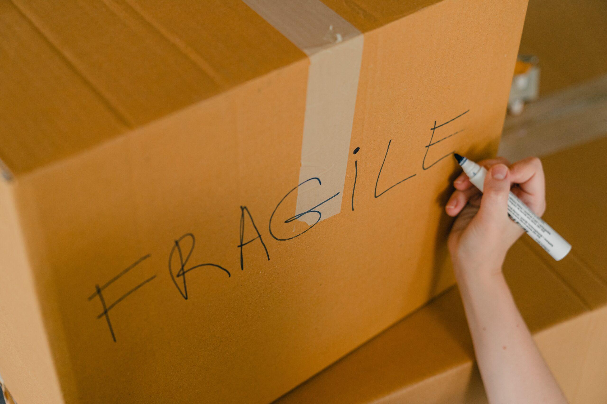 Illustration fragile