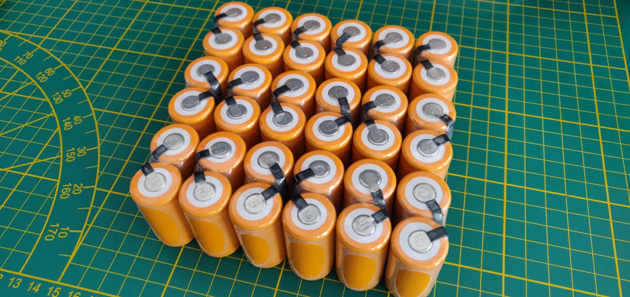 Nouvelles batteries